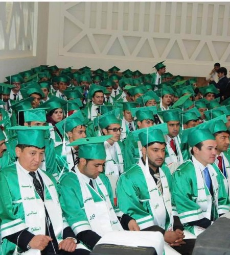 چهارمین جشن فارغ التحصیلی موسسه تحصیلات عالی استقلال
